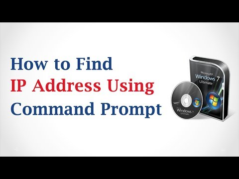 How to Find IP Address Using Command Prompt