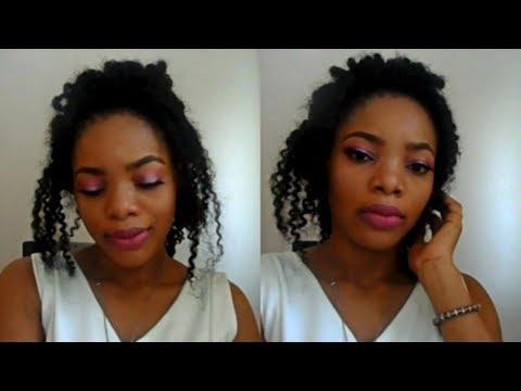 Pink Halo Eye & Full Face Makeup Tutorial | Fall Makeup Look
