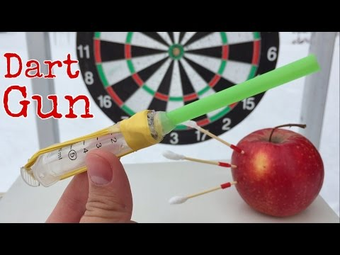 How to Make the Simplest Dart Gun out of Medical Syringe