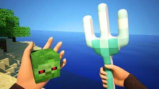Realistic Sky Block Survival - Minecraft Animation