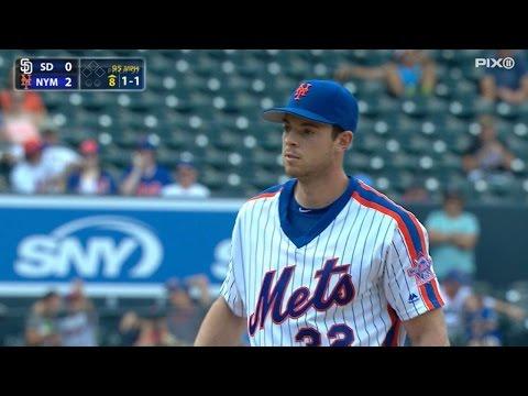 SD@NYM: Matz tosses 7 1/3 innings of one-hit ball