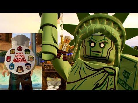 LEGO Marvel Super Heroes 2 Stan Lee Unlock and Free Roam Gameplay