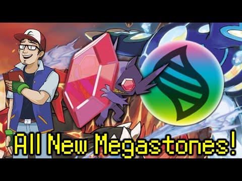 All NEW Pokémon ORAS Megastone Locations!