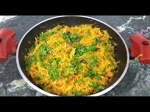 Semiya Pulao Recipe | Vermicelli Upma | Sevai vegetable Pulav