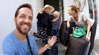 Familjen reser till Nya Zeeland från Thailand VLOGG
