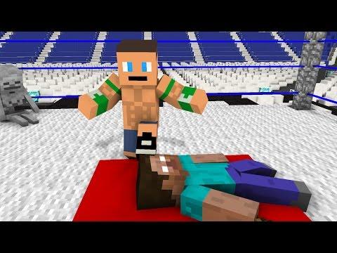 Monster School: WWE Wrestling Challenge - Minecraft Animation