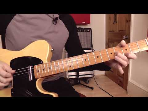 Hot Country Open String Scale Licks   Guitar Lesson