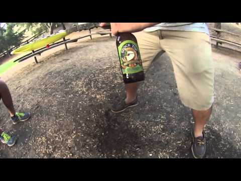 Breaking a Beer Bottle