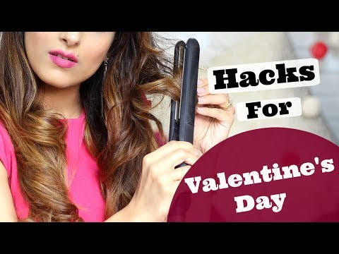 5 Quick & Simple Hair Hacks For Girls | Valentines Day Tips & Tricks | Knot Me Pretty
