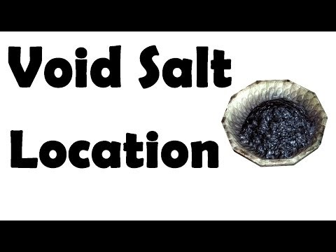 Skyrim Where to Find Void Salts All Locations