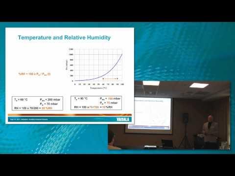 Relative Humidity, Temperature & Pressure tutorial