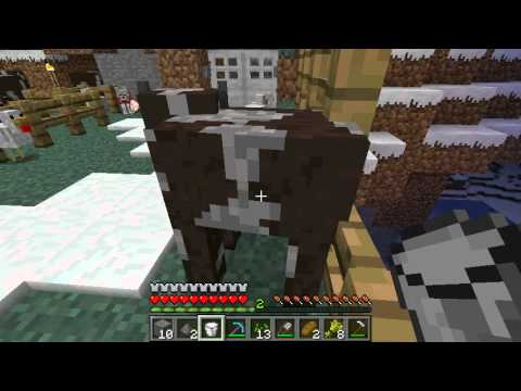 Tutorial: How To Milk A Cow In Minecraft