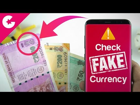 Check Fake Currency With This App!!