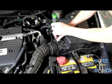 2003-2007 Honda Accord Mass air flow sensor replacement
