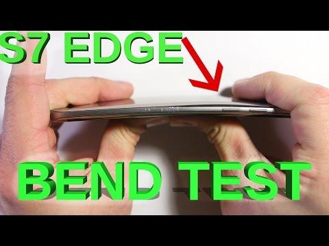 Galaxy S7 Edge - Bend Test, Scratch test, Burn Test