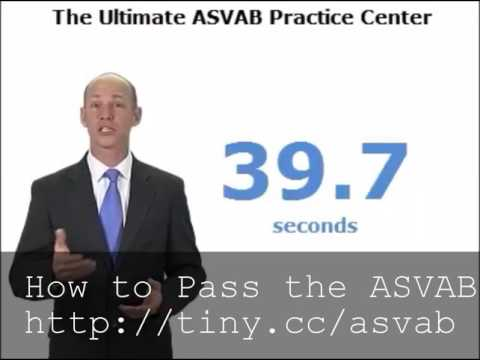 How to Pass the ASVAB Test