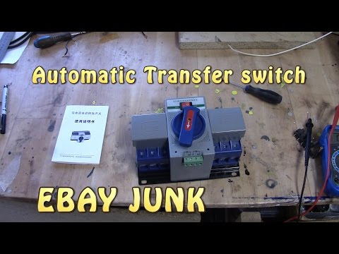 Automatic transfer switch - CRAP!