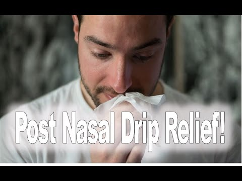 (*Post Nasal Drip*) Relief