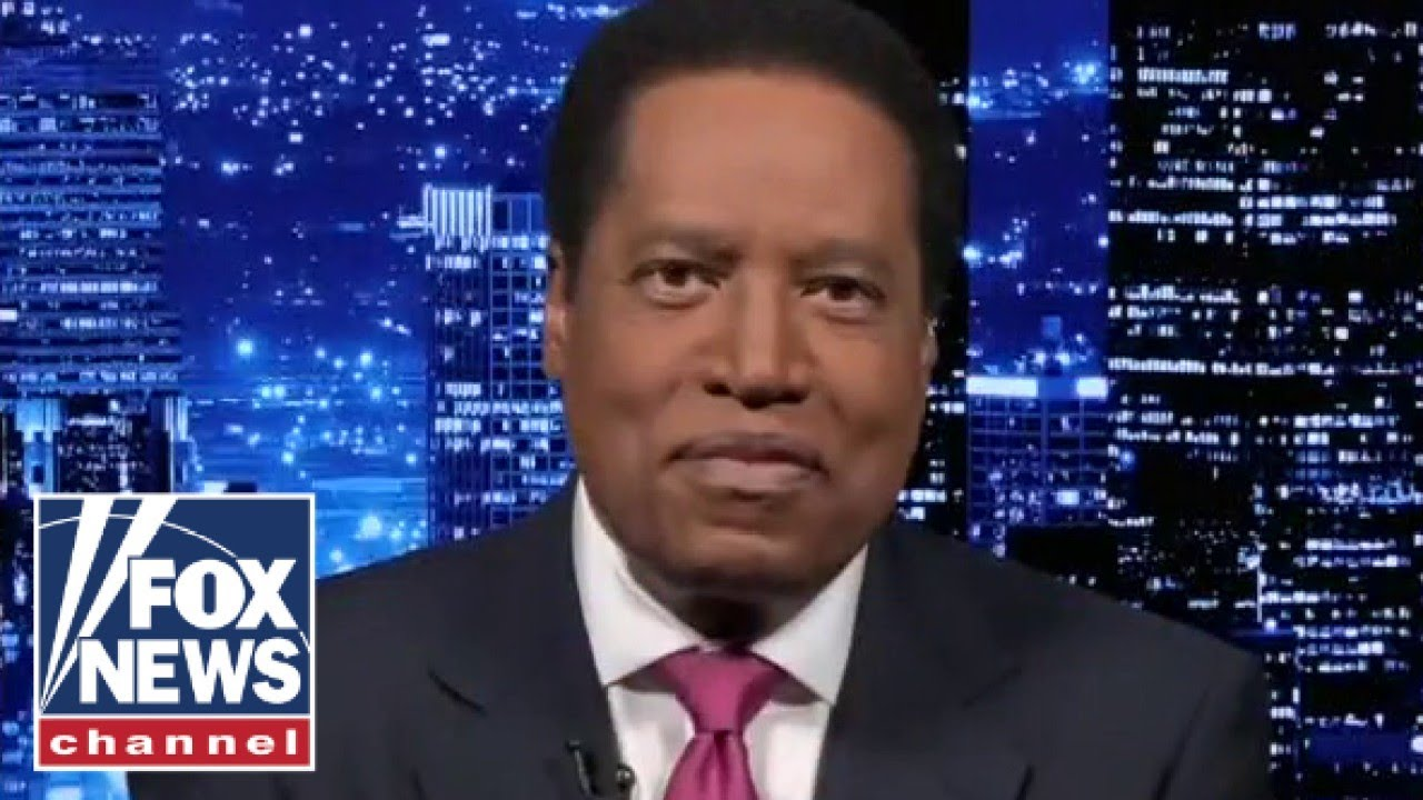 Larry Elder reacts to being banned from running for governor