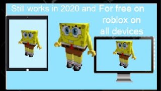How To Make Spongebob In Roblox For Free