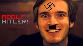 PEWDIEPIE ISNT A NAZI. OR IS HE !!!!!!!!!!!!!!!!!!!!!!