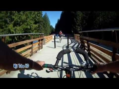 Cycling the Kinsol Trestle