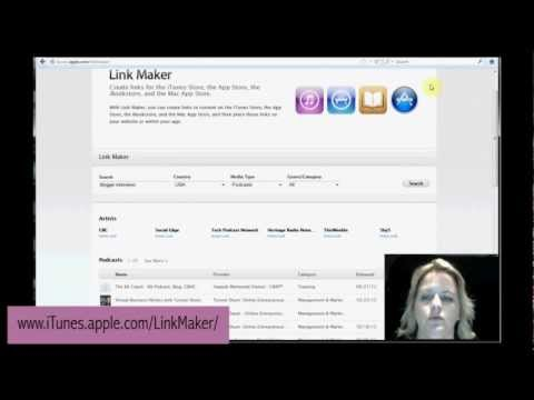 How to Create iTunes Podcast Link Buttons for blogspot & wordpress blogs
