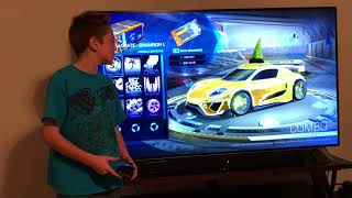 100 Crate opening during double drop weekend! (Rocket League)