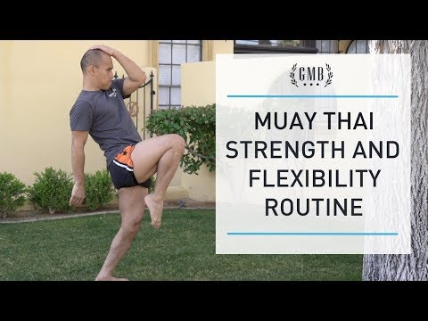 Muay Thai Mobility Routine - Prevent Muay Thai Injuries