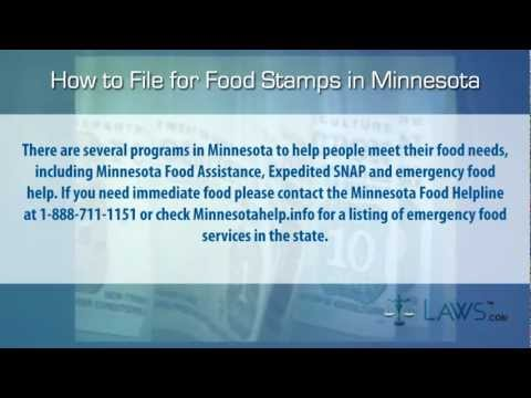 How to File for Food Stamps Minnesota