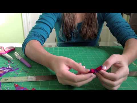How to Make Duct Tape Hairbows
