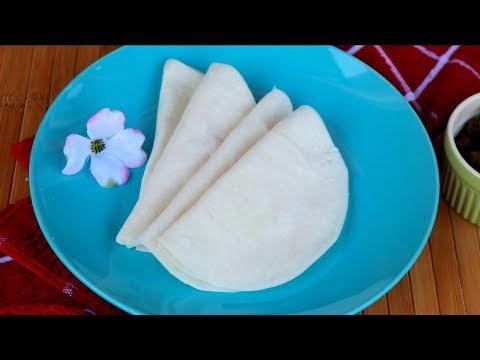 চালের আটার রুটি তৈরির পারফেক্ট রেসিপি ও দীর্ঘক্ষণ সফট রাখার টিপস | Rice Flour Ruti | Chaler Ruti