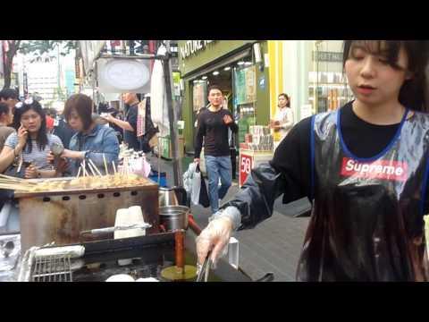 Let's go seoul Myeongdong market