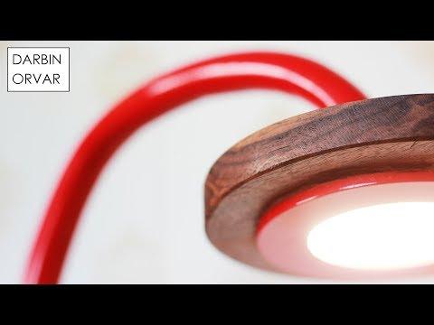 Bent PVC LED Desk Light