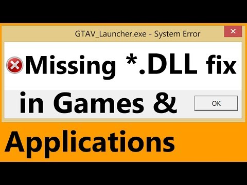 How to Fix missing DLL. Register and Unregister DLL files in Windows 10