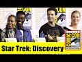 STAR TREK DISCOVERY Comic Con 2019 Full Panel Sonequa Martin Green Ethan Peck Rebecca Romijn