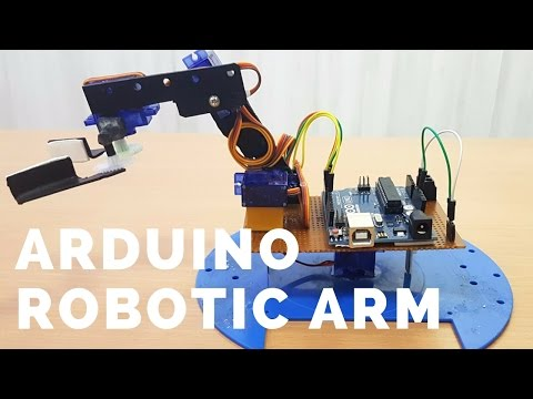 How To Build A Simple Arduino Robotic Arm (Full DIY Tutorial - From Scratch)