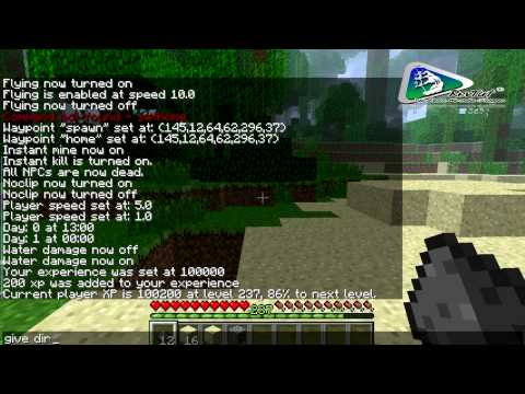 1.5.2 Minecraft Mods   Single Player Commands - Review & Installation
