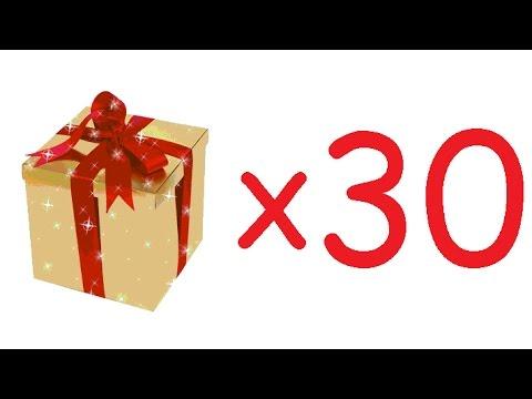 TERA RU 42.06 - opening 30 elite gift boxes , открываем 30 вип подарков