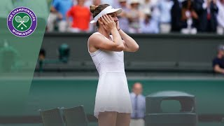 Simona Halep is the 2019 Wimbledon Ladies' Singles Champion