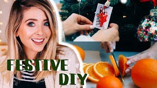 Easy Festive DIY Ideas | Zoella