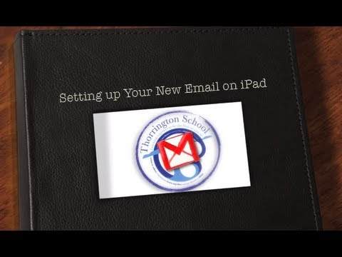 Adding a GoogleApps EDU email account to your iPad or iPhone