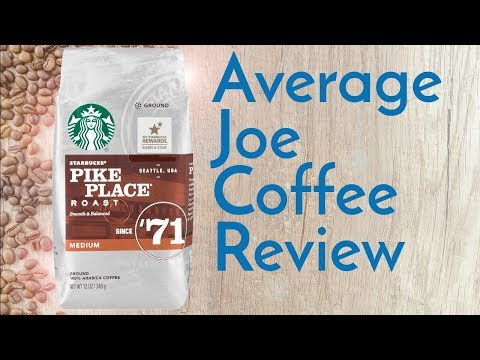 Starbucks Pike Place Coffee Review