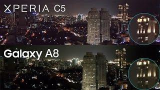 Galaxy A8 vs Xperia C5 Ultra Comparison, Camera Review, Benchmark Speed Test