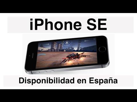 iPhone SE - Disponibilidad en España