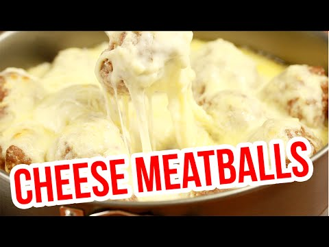 How to make cheese covered meatballs! DELICIOUS!