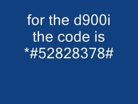 samsung d900 and d900i java unlocking codes