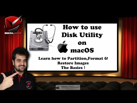 Disk Utility - How to Format , Partition and Restore images using Disk Utility! macOS Basics