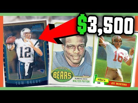 RARE FOOTBALL CARDS WORTH MONEY - VALUABLE CARDS TO LOOK FOR!!