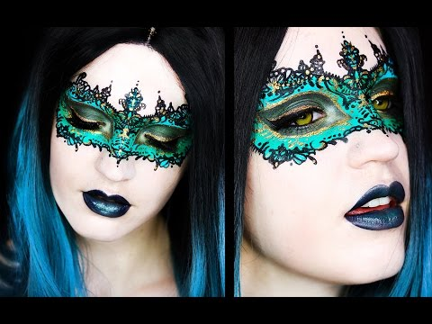 Masquerade Mask | Makeup Tutorial